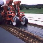 Verlegung der BioAgri Folie