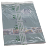 Compostable film used for magazine wrap