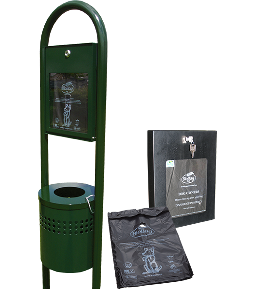 Dog Waste Bags and Dispensers