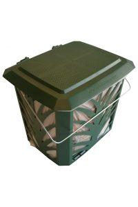 BioBag-påse i en MaxAir ventilerad behållare