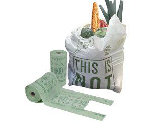 Miljørigtige komposterbare produkter til detailhandlen