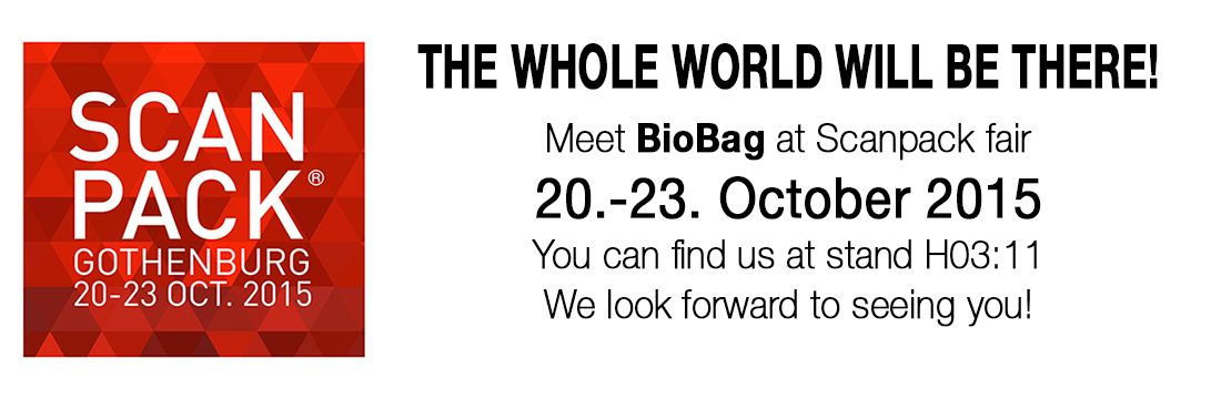 BioBag at Scanpack exhibition