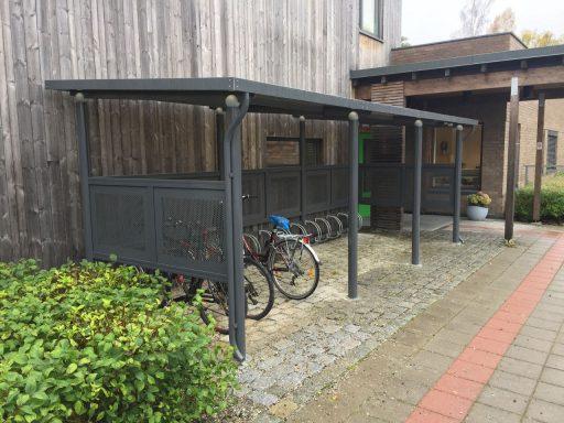 Funkis 3 med hjulholdere og nedløpsrør - Asker kommune