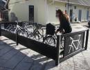 Velopark sykkelstativ-sykkelparkering