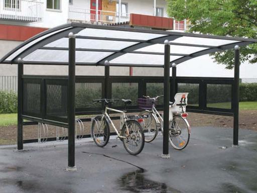 Ymer 2 sykkelskur, standard