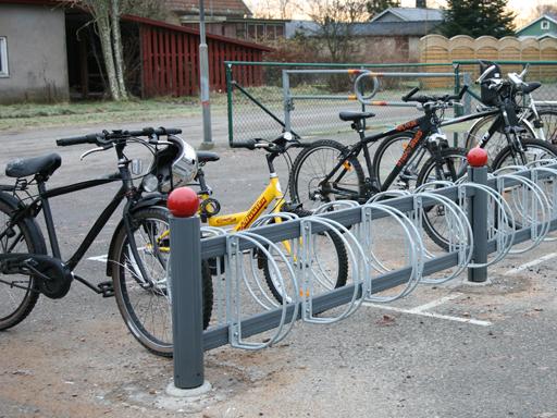Zenzo Miljø - Bike dobbel sykkelstativ med hjulholder