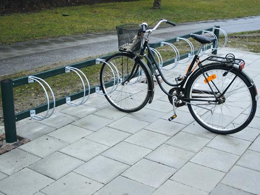 Bike sykkelstativ - 10 sykkelplasser