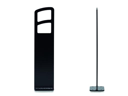 Delta Rammelås sykkelbue, sort - høyde 850 mm