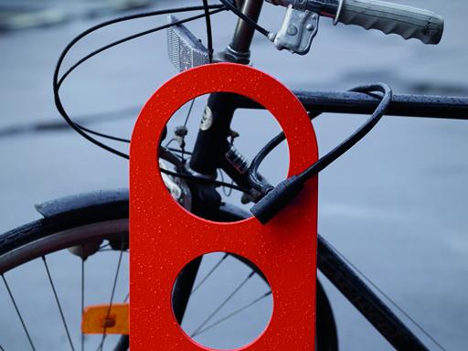 Rammelås sykkelbue Orion, finnes i flere farger