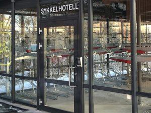 Zenzo Miljø - Sykkelhotell - Sykkelhus-tilvalg-dørautomatikk
