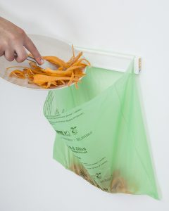 Compostable bags for food waste