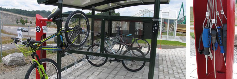 Dero Fixit servicestasjon for sykkelen