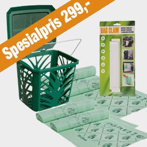 BioBag-Miljovennlig-Spesialtilbud-MaxAir-10 liter-BagClam
