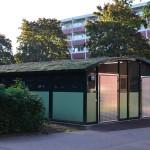 Tellus Duo Miljø - Avfallshus - Miljøhus - avstand