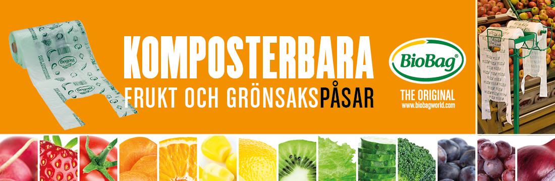 komposterbara Frukt och grönsakspåsar