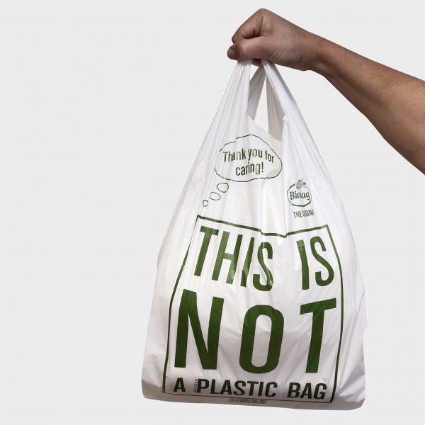 Miljøvennlig bærepose - Stor (500 stk.)