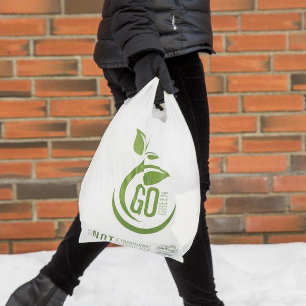 Gå grønn tradisjonelle poser