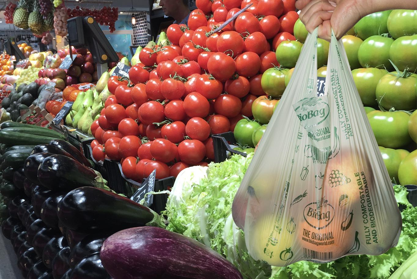 Frukt- og grønnsakspose - BioBag