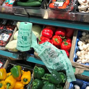 Compostable fruit and vegetable bags a great alternative to regular plastic