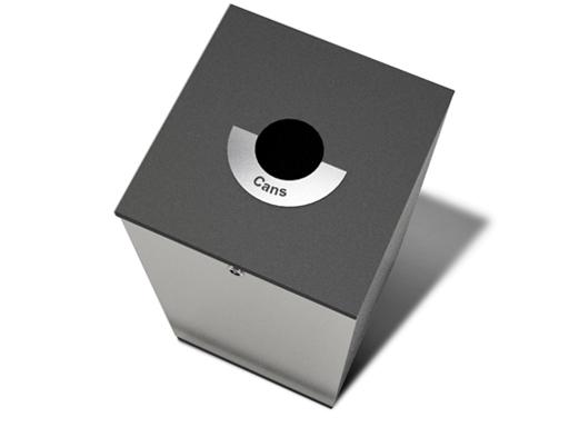 Edge avfallsfraksjon for bokser.