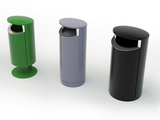 Novus leveres i tre forskjellige størrelser 50, 80 og 120 l.