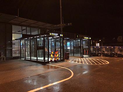 Zenzo Miljø - Leskur - Avinor Molde lufthavn - Terminalskur kveld