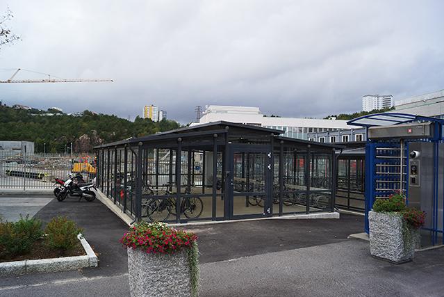 ZENZO MILJØ-SYKKELPARKERING-sykkelhus-sykkelhotell-Glencore Nikkelverk 2