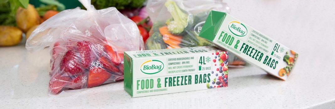 Biologisk nedbrytbare og komposterbare fryseposer