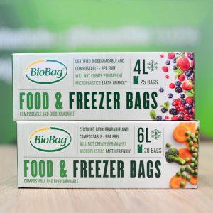 BioBag fryseposer certificeret komposterbare