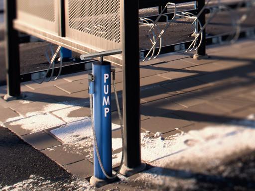 Ventus sykkelpumpe passer fint sammen med Barre sykkelservice
