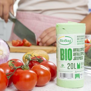 BioBag avfallsposer 20 liter-komposterbar og biologisk nedbrytbar biopose-1