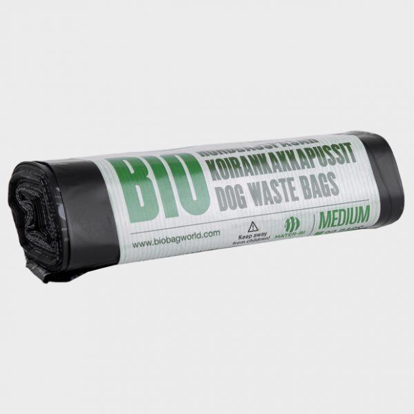 186043_BioBag-Bio hundeposer på rull - Medium - Banderoll - komposterbare