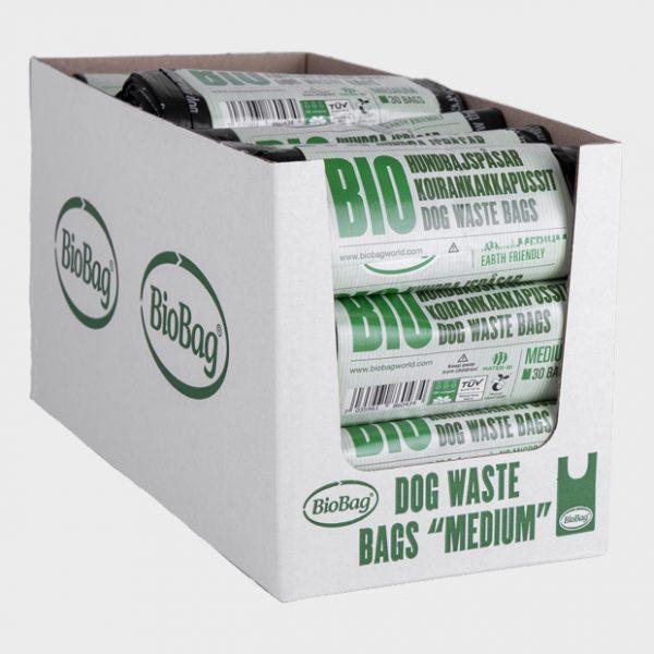 186043_BioBag-Bio hundeposer på rull - Medium -Dispenser