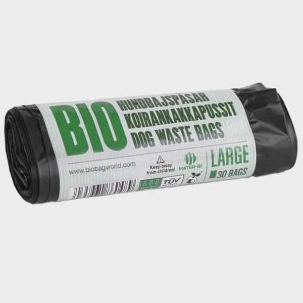 186048_BioBag-Bio hundeposer på rull - Stor - Banderoll - komposterbare