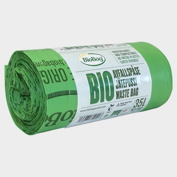 BioBag avfallssekk 35 liter-spesial-komposterbar og biologisk nedbrytbar-184011